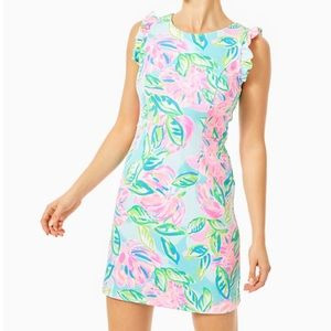NWT LILLY PULITZER CARMELISA DRESS TOTALLY BLOSSOM